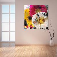 Ready2HangArt 'Painted Petals LXXXVII' Canvas Art