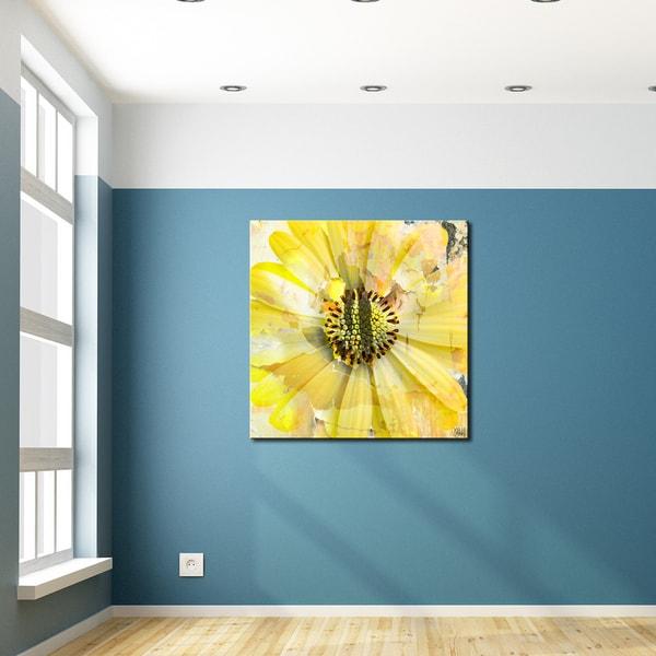 Shop Ready2hangart Painted Petals Xcv Canvas Art Free