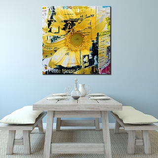 Ready2HangArt 'Painted Petals XCVI' Canvas Art