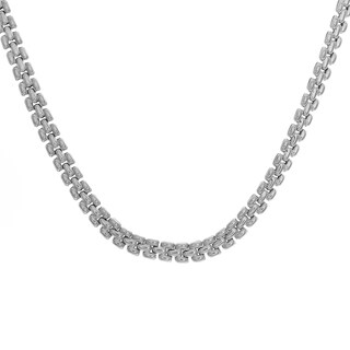 Sterling Essentials Silver Pantera Necklace