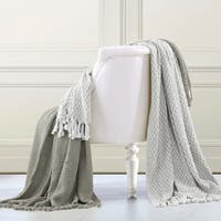 Amrapur Overseas  100-percent Cotton Mosaic Throws (Set of 2)