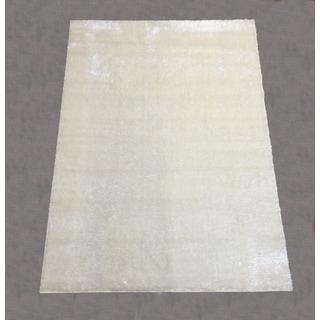 Lyke Home Rya Extra Plush 0001 White Area Rug (7'10 x 10'2)