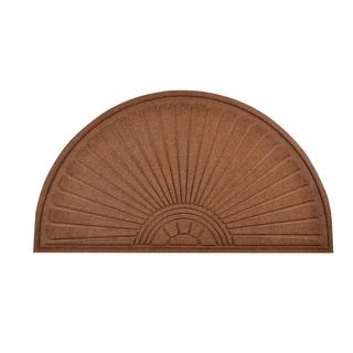 HomeTrax Designs Guzzler Sunburst Door Mat (24-inch x 36-inch)
