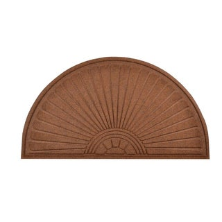 HomeTrax Designs Guzzler Sunburst Door Mat (23-inch x 44-inch)