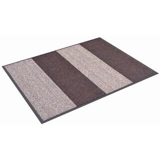 HomeTrax Designs Textura Color Block Door Mat (3' x 8')