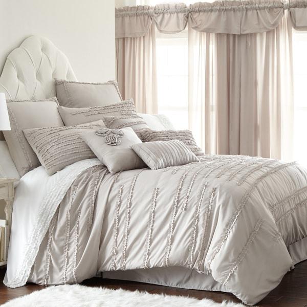 Amraupur Overseas Collette Linen 24-piece Comforter Set