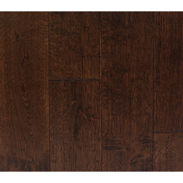 Shop The Somette Haslett Oak Series Savanna Brown Solid Hardwood