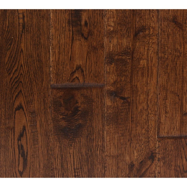 The somette haslett oak series rural brown solid hardwood for Hardwood floors 600 sq ft