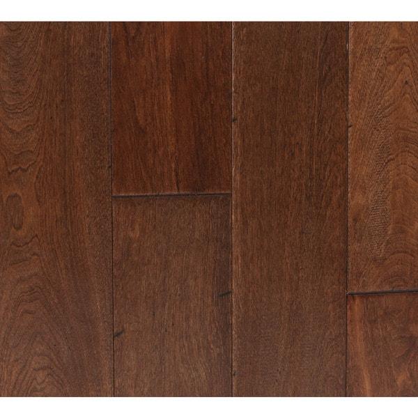 Distressed Maple Hardwood Flooring: Somette Novi Maple Series Distressed Butterscotch Solid