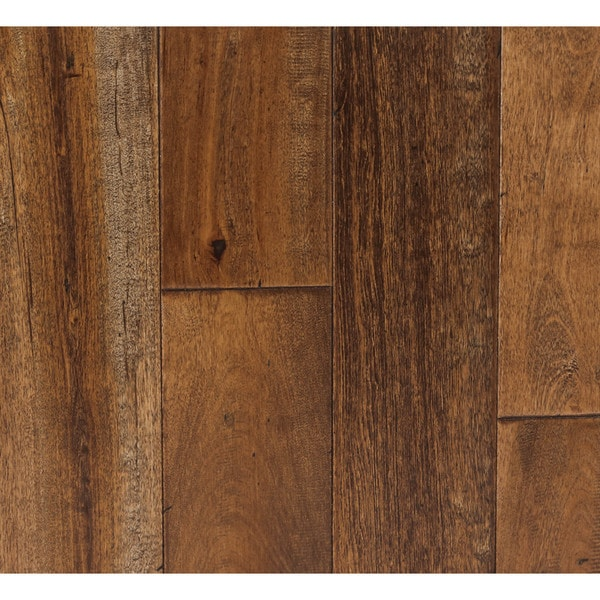 Somette novi maple series distressed lowland brown solid for Hardwood floors 600 sq ft