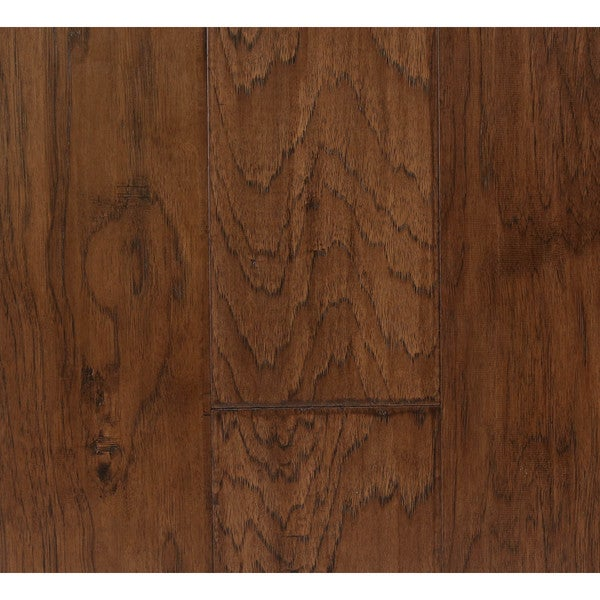 Somette midland hickory series pecan engineered hardwood for Hardwood floors 600 sq ft