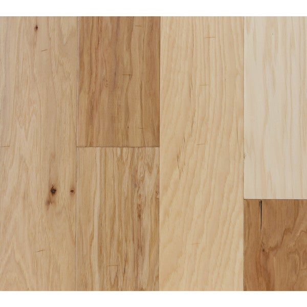 Somette hinds hickory series natural engineered hardwood for Hardwood floors 600 sq ft