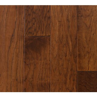 Somette Hinds Hickory Series Suede Engineered Hardwood Flooring (31 Sq Ft)