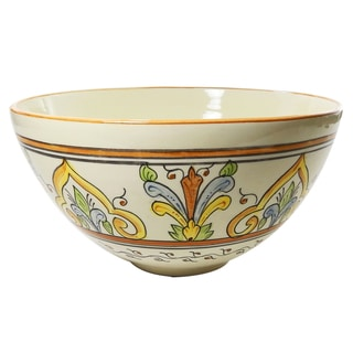 Le Souk Ceramique Salvena Design Deep Salad Bowl
