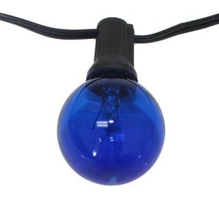 25-foot Party Light Strings with Cobalt Blue Bulb