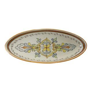 Le Souk Ceramique Salvena Design Extra Large Oval Platter
