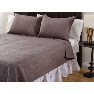 Chateau Orleans Cotton 3-Piece Quilt Set