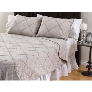 Devon 3-Piece Cotton Quilt Set