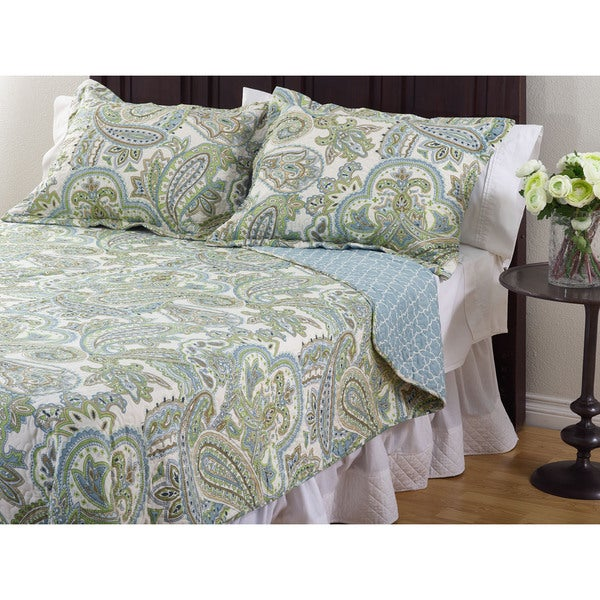 La Mirande 3-Piece Quilt Set - On Sale - Free Shipping Today ... : overstock quilt - Adamdwight.com