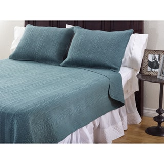 Monroe Cotton 3-Piece Quilt Set