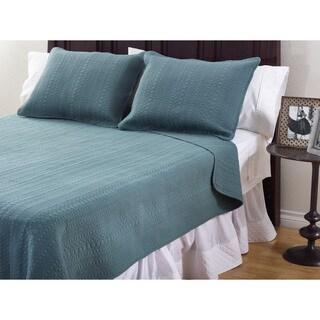 Monroe Cotton 3-Piece Quilt Set