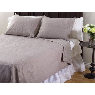 Matelasse 3-Piece Coverlet Set