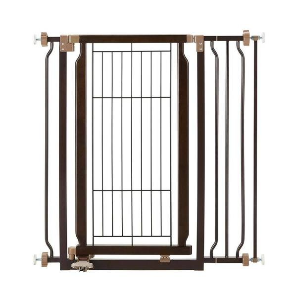 Shop Richell Hands Free Pressure Mounted Pet Gate Free