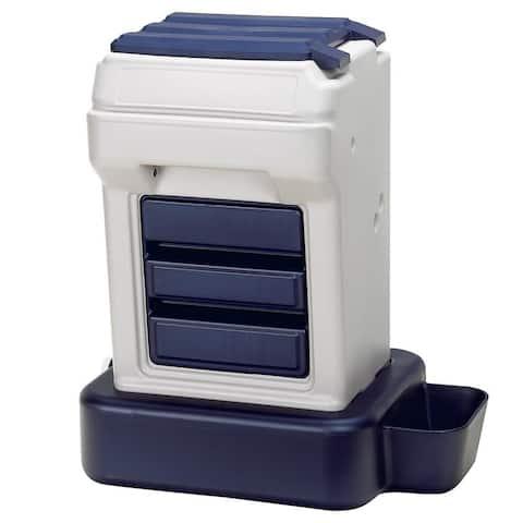 Bergan K-9 Cafe Tray Pack Pet Food Dispenser
