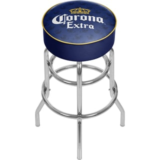 Corona Chrome Bar Stool with Swivel - Griffin
