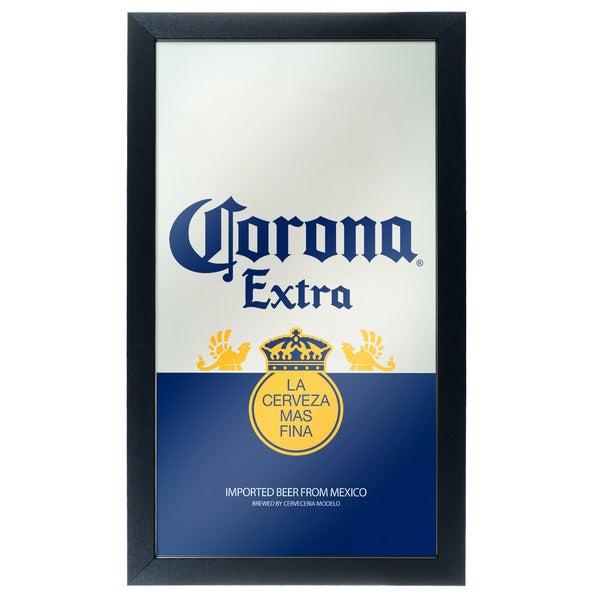Corona Framed Mirror Wall Plaque-Can