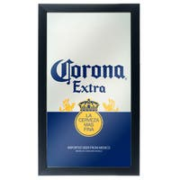 Corona Framed Mirror Wall Plaque-Can