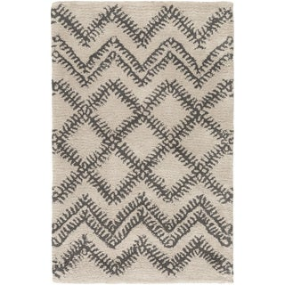 Hand-Tufted Pippa Geometric Pattern Wool Rug (3'3 x 5'3)