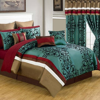 Windsor Home Lindsey 25-piece Room-In-A-Bag Bedroom Set