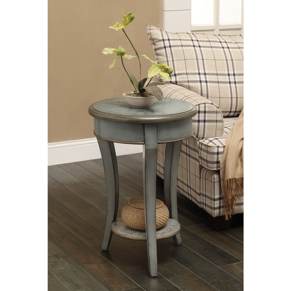 Shop Treasure Trove Accents Henley Grey Green Accent Table