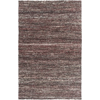 Hand-Woven Seger Solid Pattern Cotton Rug (2' x 3')