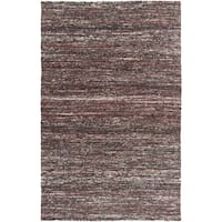 Hand-Woven Seger Solid Pattern Cotton Area Rug (2' x 3')