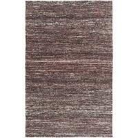 Hand-Woven Seger Solid Pattern Cotton Area Rug - 2' x 3'