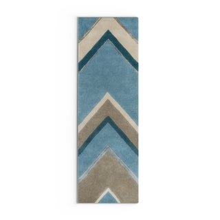 Hand-Tufted Wright Solid Indoor Rug (2'6 x 8')