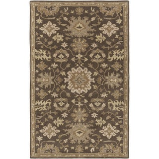 Hand-Tufted Tipton Floral Wool Rug (8' x 11')