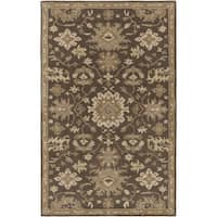 Copper Grove Ramalayam Hand-Tufted Floral Wool Area Rug