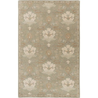 Hand-Tufted Widnes Floral Wool Rug (8' x 11')