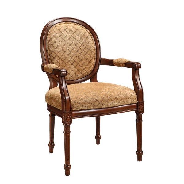 Treasure Trove Accents Brown Diamond Pattern Accent Chair  : Treasure Trove Accents Brown Diamond Pattern Accent Chair 32d5ab03 a7c7 4ab9 9c75 d044ed60c070600 from www.overstock.com size 600 x 600 jpeg 39kB