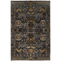 Hand-Knotted Wilton Floral Wool Area Rug - 9' x 13'