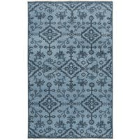 Hand-Knotted Tadley Floral Indoor Wool Area Rug - 8' x 11'