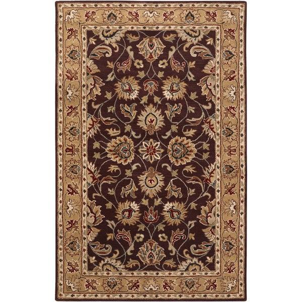 Hand-Tufted Nia Wool Area Rug (7'6 x 9'6)