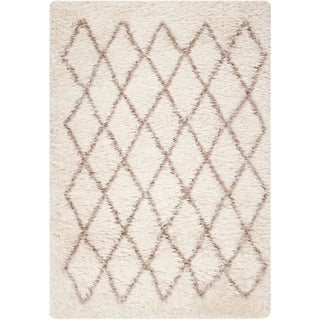 Hand-Stitched Kellen Polyester-Wool Rug (8' x 10')