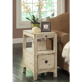 Treasure Trove Accents Southern Shores Sand One Drawer Accent Table