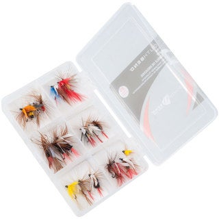 South Bend 25 Piece Fly Kit - Fly Fishing Hooks