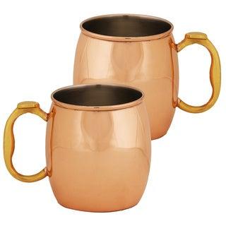 Classic 20-ounce Copper Mug (Set of 2)