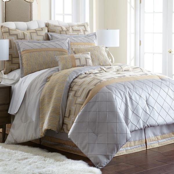 Amraupur Overseas Maddox 8-piece Embroidered Comforter Set
